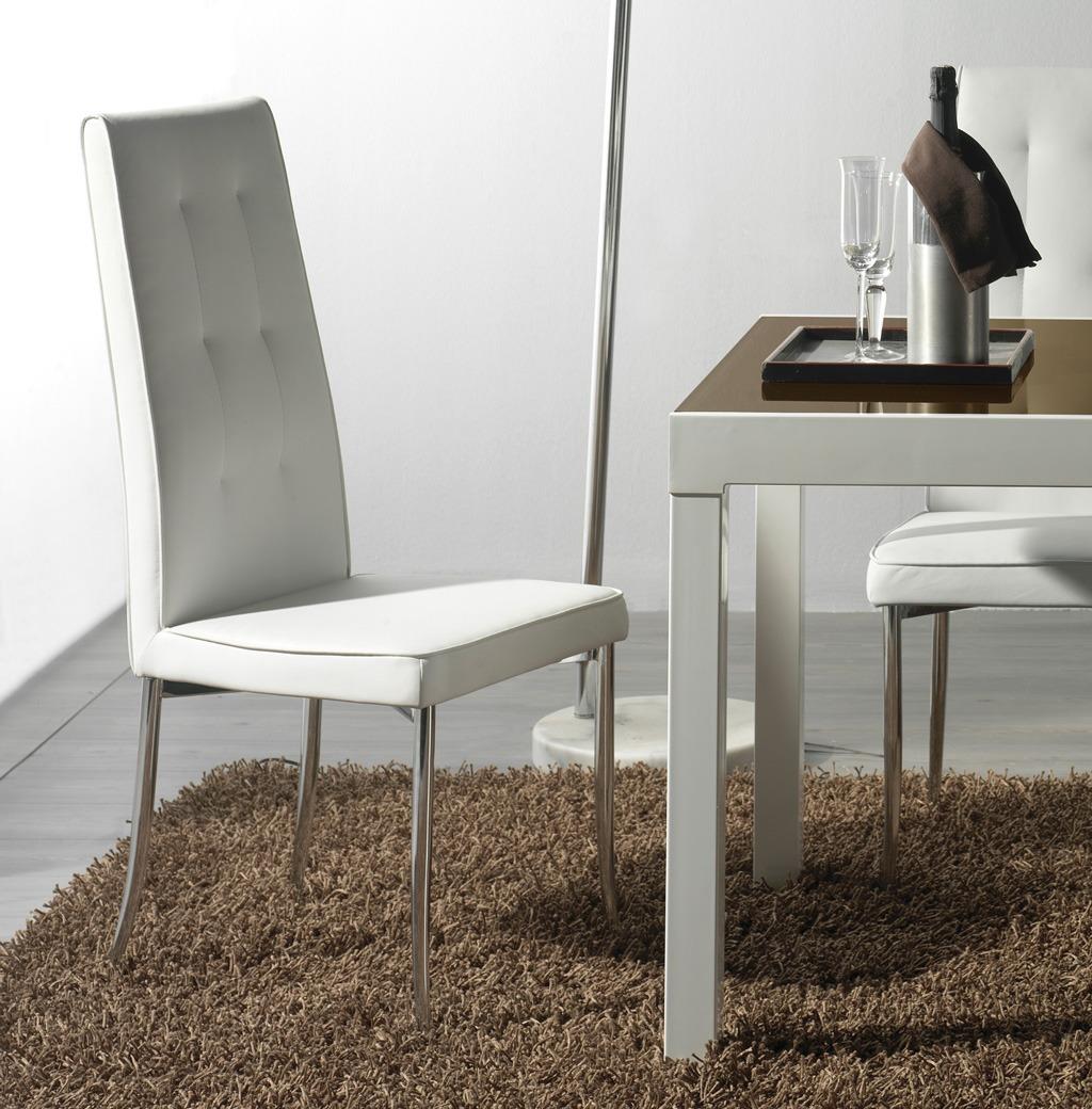 Catalogo de muebles rey 2014 2015 comedor silla piel for Catalogo de sillas para comedor
