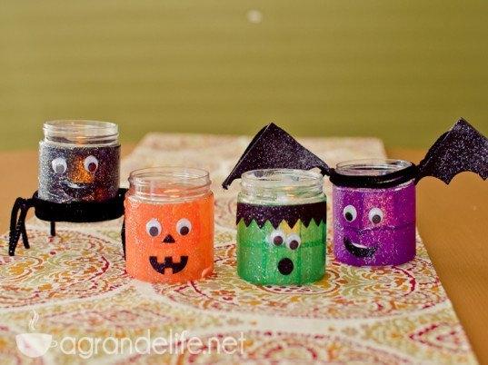 Halloween decorar la casa reciclaje