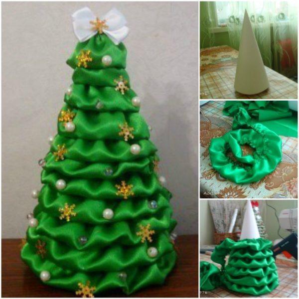 C mo hacer un rbol de navidad con material reciclado - Como hacer cosas de navidad ...