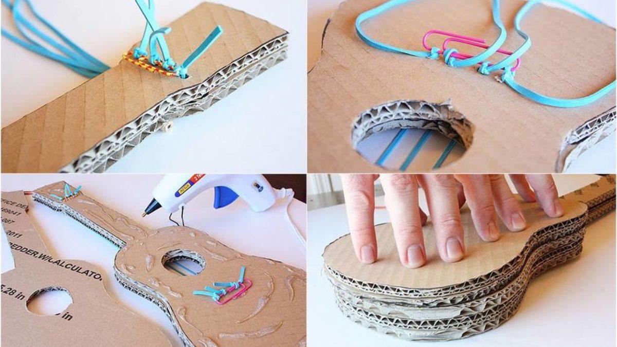 Cómo hacer instrumentos con materiales reciclados - Bricolaje10.com