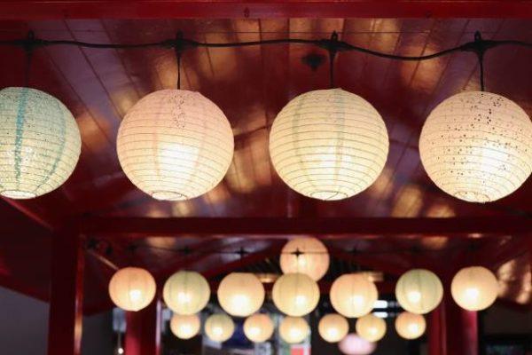 Como hacer lampara de papel tradicional