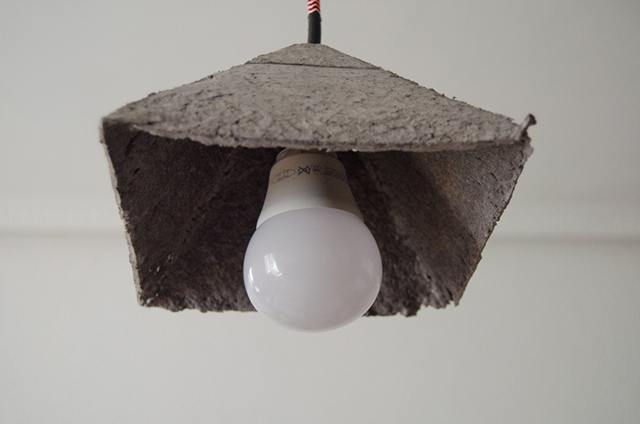 C mo hacer l mparas con papel mach - Como hacer lamparas de techo artesanales ...