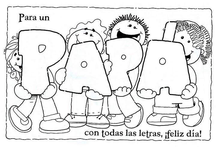 Dibujos Para Colorear Para El Día Del Padre Bricolaje10com