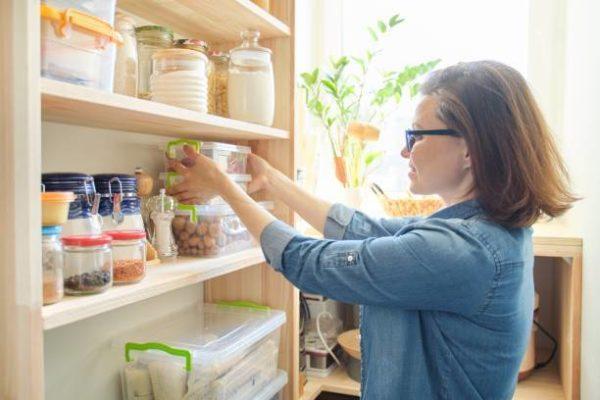 Ideas ordenar cocina alimentos organizados