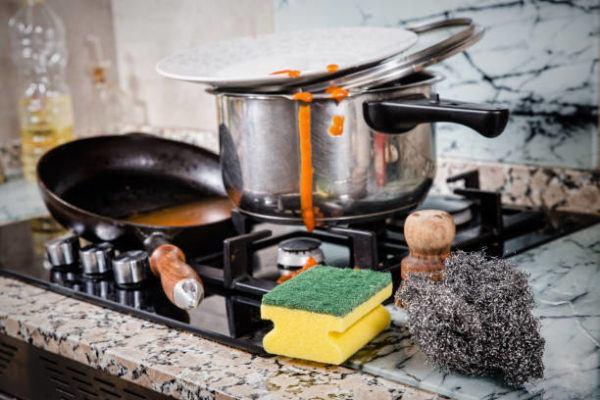 Ideas ordenar cocina limpia a medida que cocinas