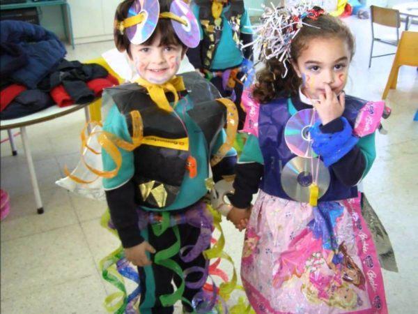 vestidos disfraz reciclados
