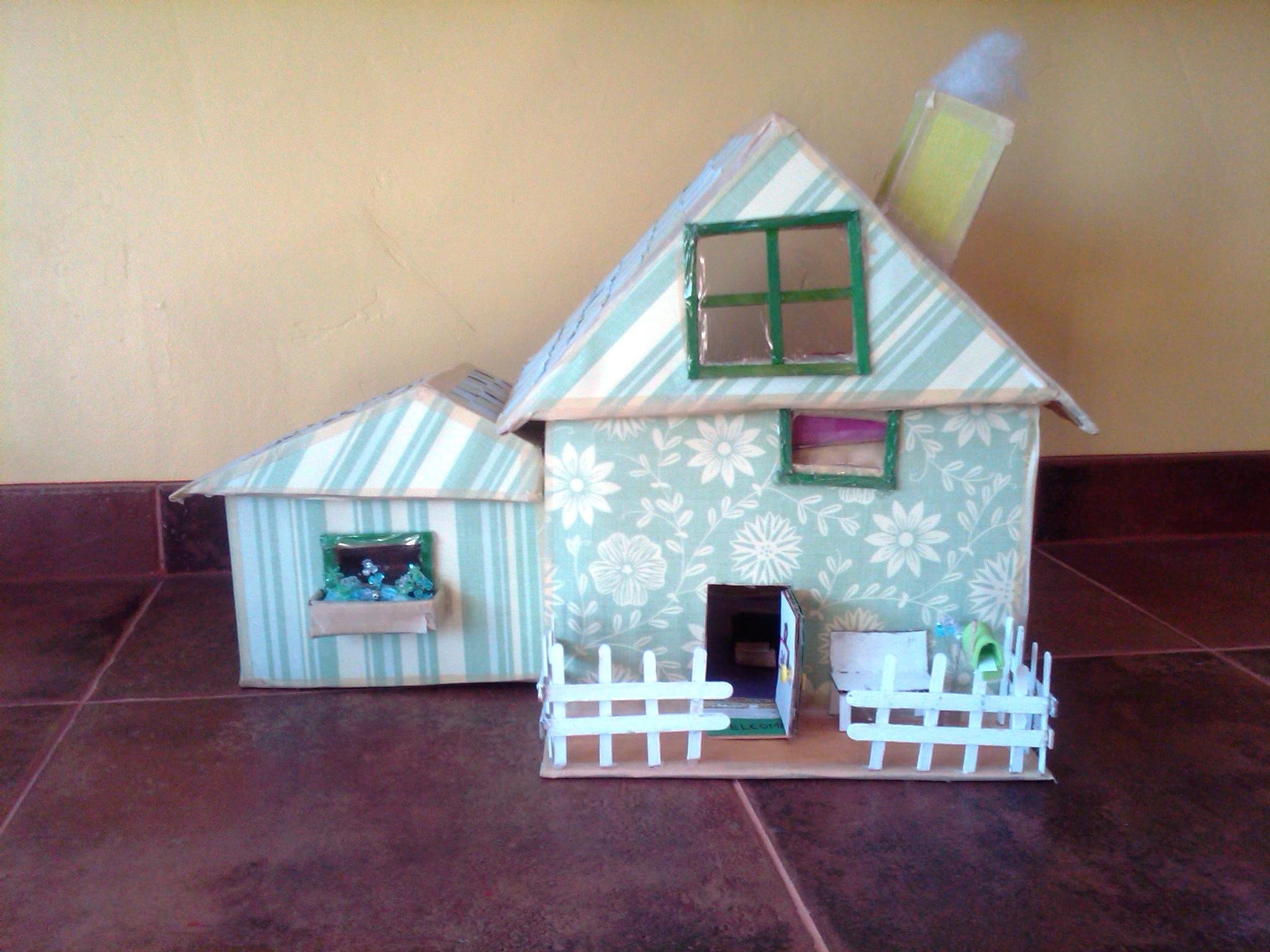 Bonitas maquetas de casas for Hacer casas