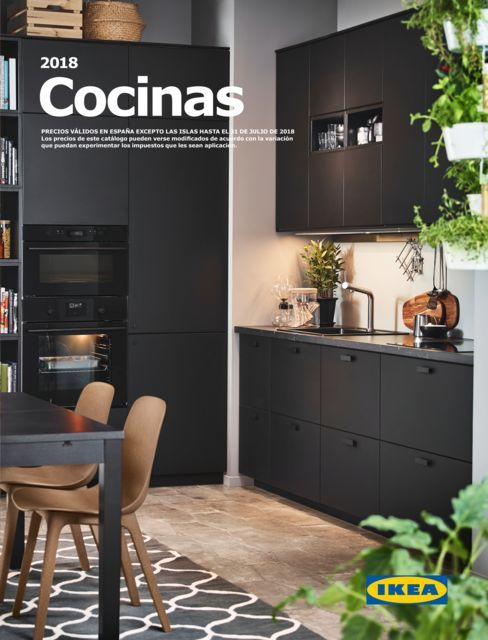 cocinas modernas cat logo ikea 2019 bricolaje 10. Black Bedroom Furniture Sets. Home Design Ideas