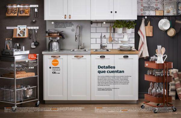 Cocinas modernas | Catálogo Ikea 2018 - Bricolaje10.com