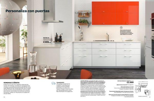 Cocinas modernas cat logo ikea 2018 for Iluminacion cocina ikea