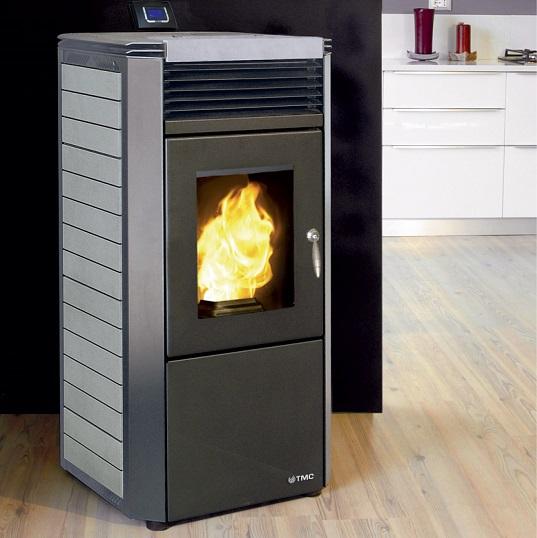 C mo se instalan las estufas de pellets - Estufas sin chimenea ...