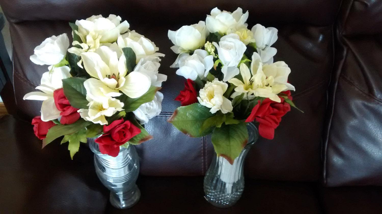 Como hacer ramos de flores para cementerio paso a paso - Como hacer un ramo de flores artificiales ...