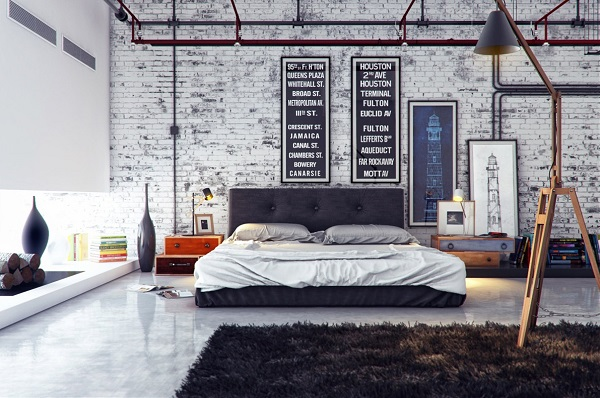Awesome Dormitorio Industrial