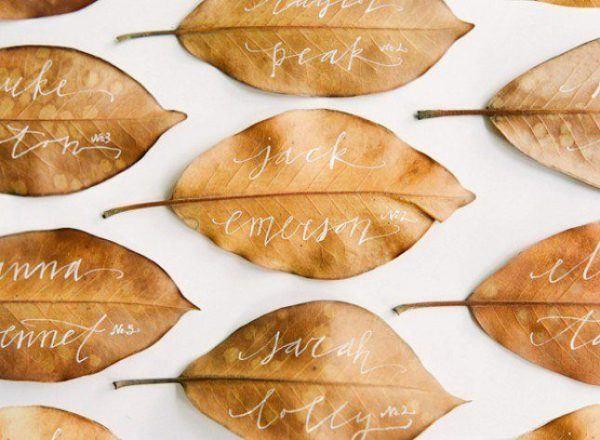 tarjetas-accion-de-gracias-hechas-a-mano-thanksgiving-day-2015-hojas-secas-nombres