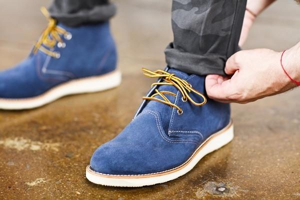 zapatos gamuza