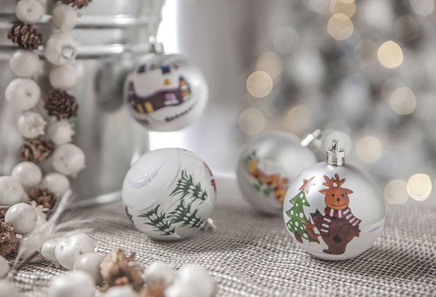 adornos de navidad 2015 catalogo leroy merlin bolas renos