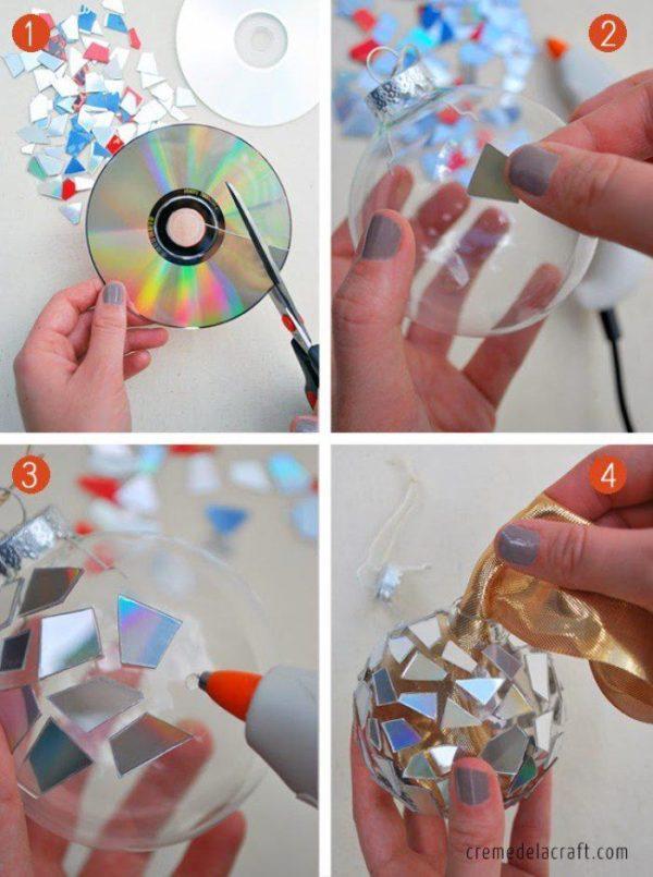 adornos-de-navidad-reciclados-con-cd