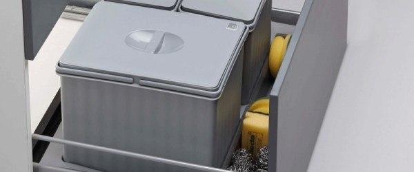 ¿Cómo organizar tu cocina para reciclar cómodamente?