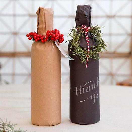envolver-regalos-navidad-botellas