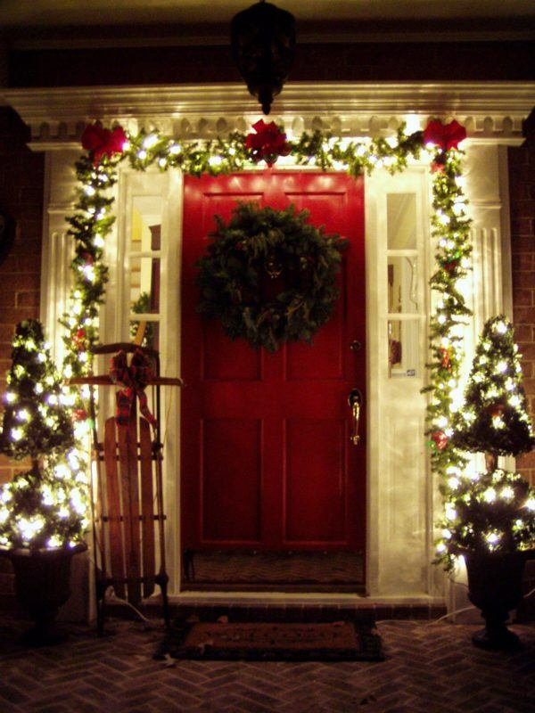 Puertas navideñas 2021: puertas decoradas para Navidad - Bricolaje10.com