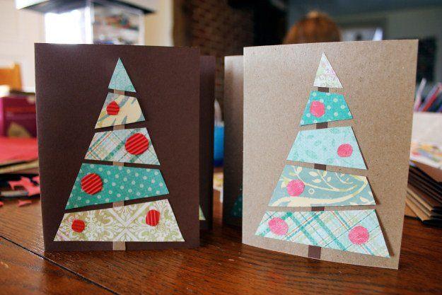 Tarjetas de navidad 2018 artesanales for Tarjetas de navidad hechas por ninos