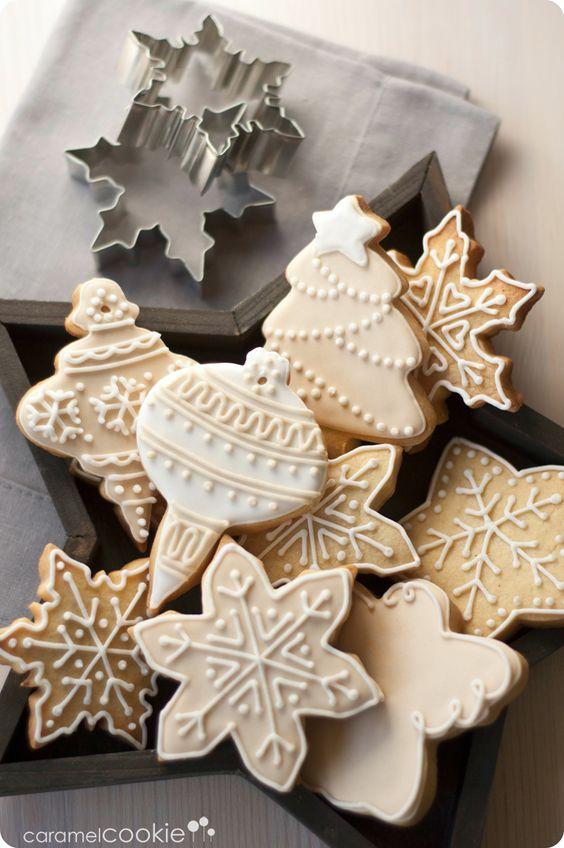 Galletas navideñas para decorar mesa