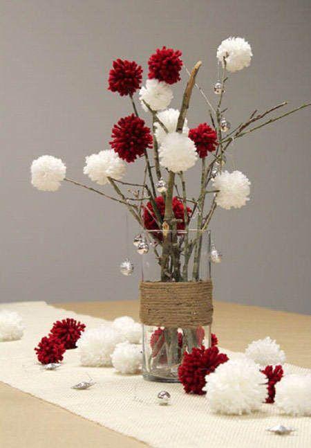 Ideas para hacer centros de mesa en navidad 2016 for Arreglo para puertas de navidad