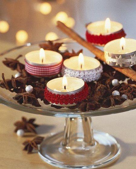 Ideas para hacer centros de mesa en navidad 2018 for Centro mesa navidad