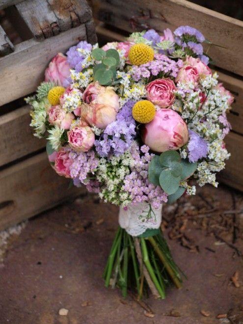 hacer un ramo de flores frescas para san valentn silvestres