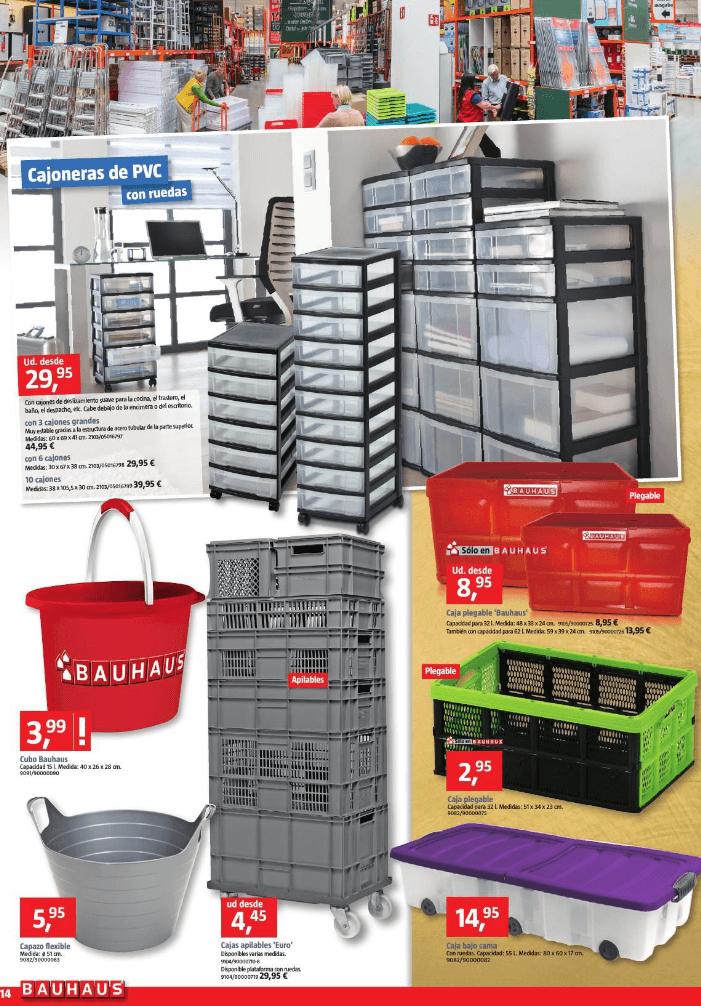 Catalogo bauhaus febrero 2016 productos almacenaje - Bauhaus estanterias ...