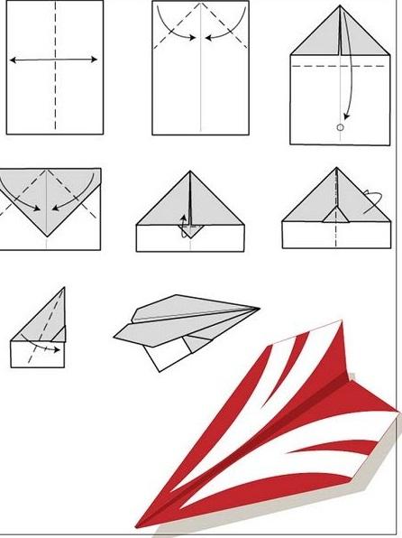 como-hacer-aviones-de-papel-glider-2