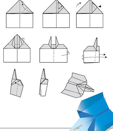 Como hacer aviones de papel the hawkeye - Como hacer un sofa paso a paso ...