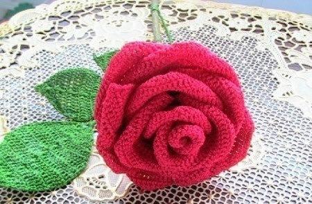 c mo hacer flores de ganchillo