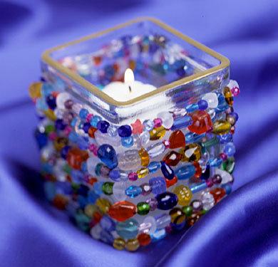 C mo hacer velas decoradas con material reciclado - Como hacer candelabros ...