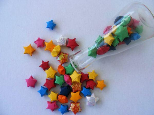 estrellas-de-papel-3D-BOTELLA