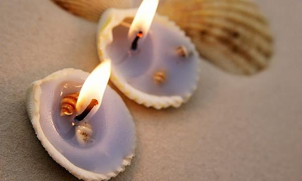 velas conchas
