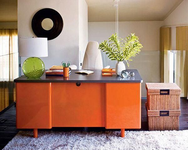 20 colores para interiores para decorar tu casa con estilo - Decoracion con color naranja ...
