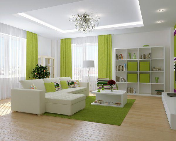 interiores-color-verde-y-blanco