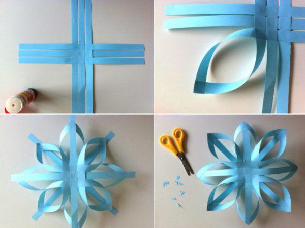 C mo hacer estrellas de papel for Manualidades navidenas con cartulina