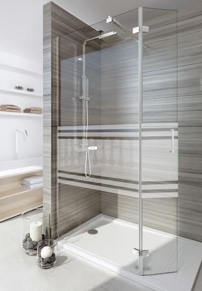Tipos de mamparas de ducha para tener un ba o original for Duchas grandes