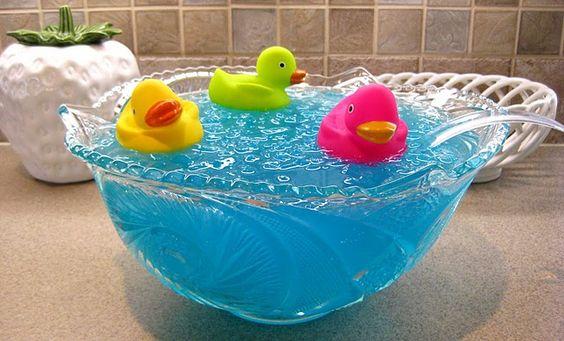 Centro De Mesa Para Un Baby Shower Ponche