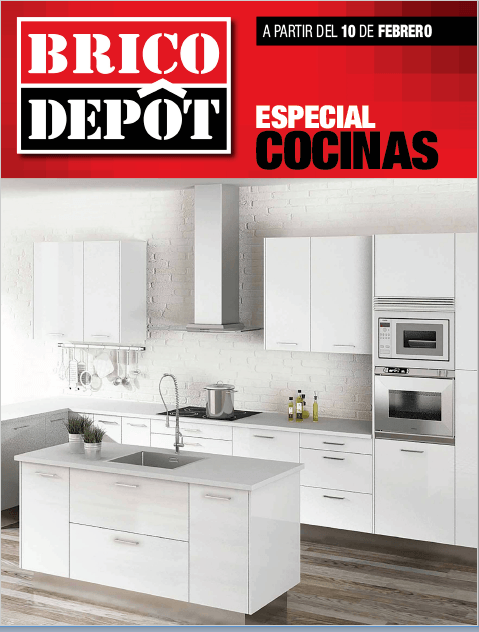 Cat logo brico depot cocinas febrero 2017 for Catalogo brico depot cocinas 2017