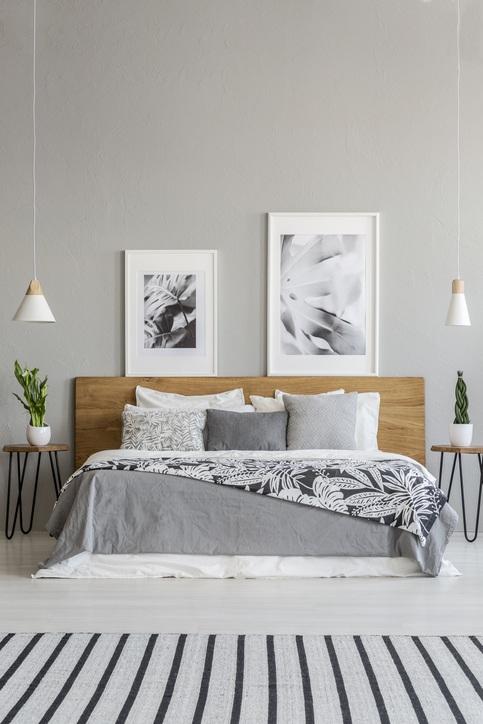 Cabeceros de cama madera puerta