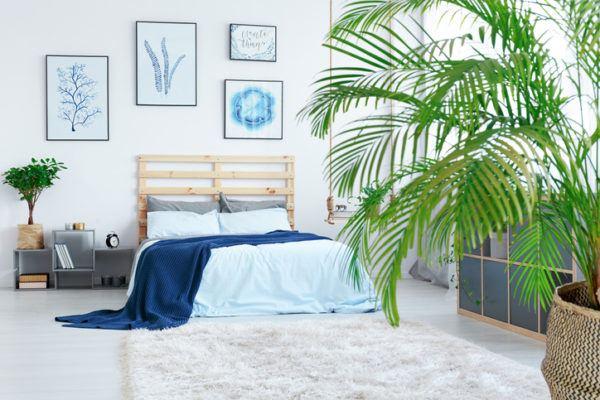 Cabeceros de cama palets sencillo