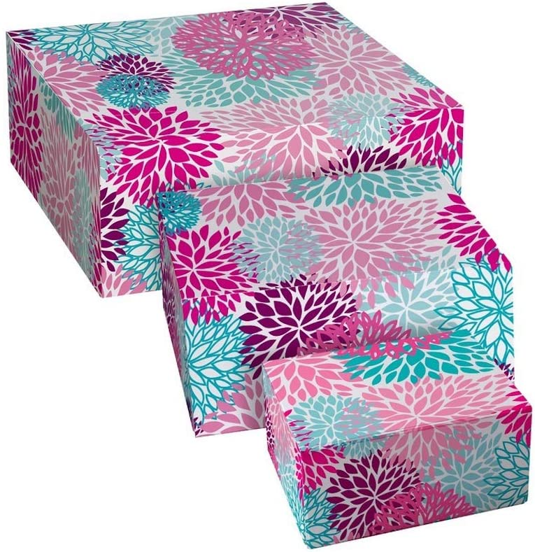 Cajas de cartón decoradas - cajas de cartón decoradas para guardar la ropa hippie