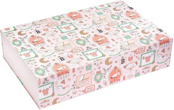 Cajas de cartón decoradas - cajas de cartón decoradas para guardar la ropa Baby shower