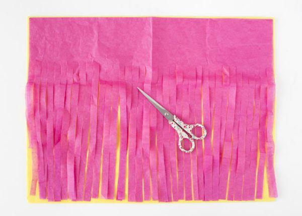 como hacer guirnaldas de papel paso a paso - Hacer Guirnaldas