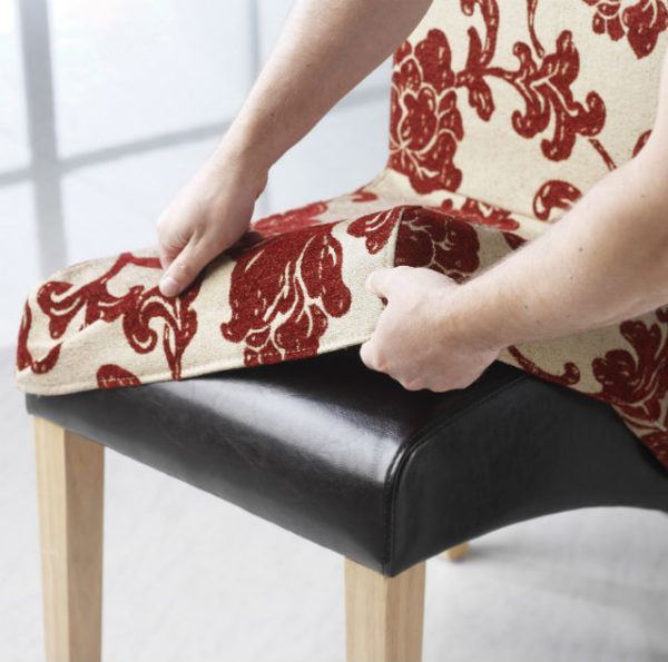 C mo hacer fundas para sillas de comedor y sillas de beb for Sillas para que coman los bebes