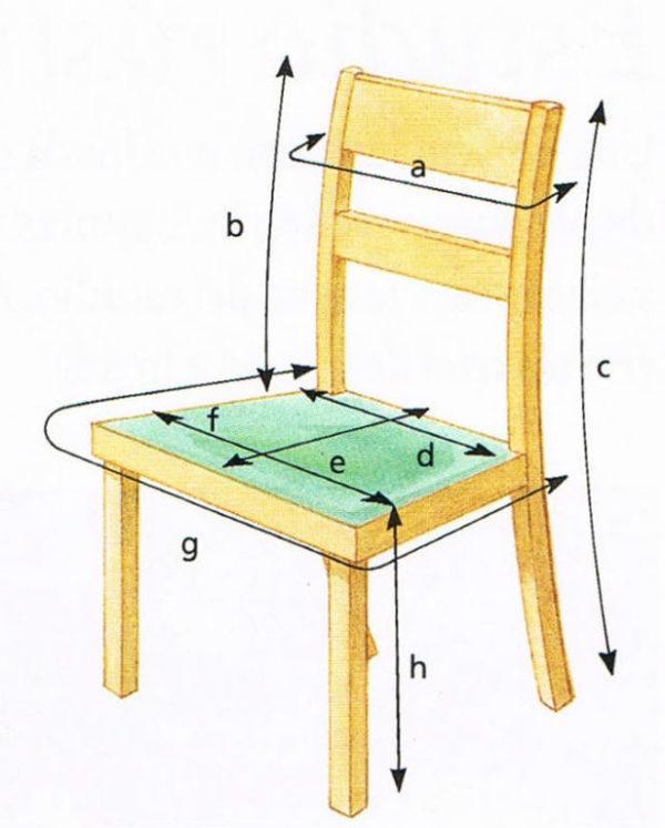 Bricolaje 10 c mo hacer fundas para sillas de comedor y sillas de beb - Como hacer un sillon paso a paso ...