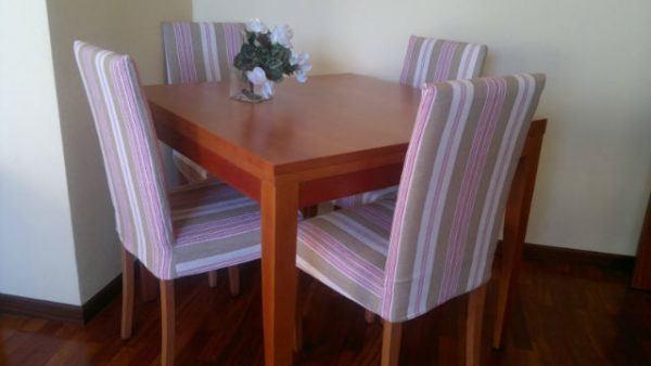 C mo hacer fundas para sillas de comedor y sillas de beb - Fundas asiento sillas comedor ...